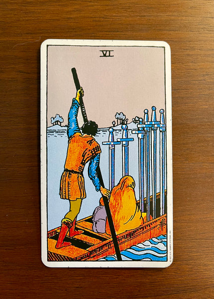 Tarot Card of the Day: March 3, 2021 -- Six of Swords