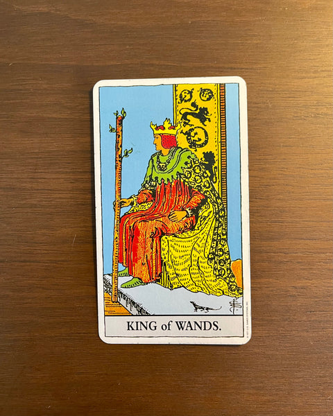 Card of the Day: Feb. 20, 2021 — King of Wands