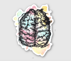 Teddy's Brain Sticker For A Cause [PRE-Order]