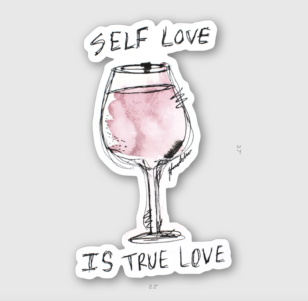 Self Love is True Love Sticker