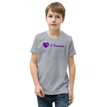 "Load image into Gallery viewer, Heart of Gold ""I Remember"" Youth T-Shirt"