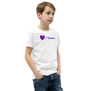"Heart of Gold ""I Remember"" Youth T-Shirt"