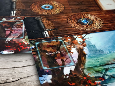 18x10.5 Playmat Double-Sided Gloomhaven / Jaws of the Lion