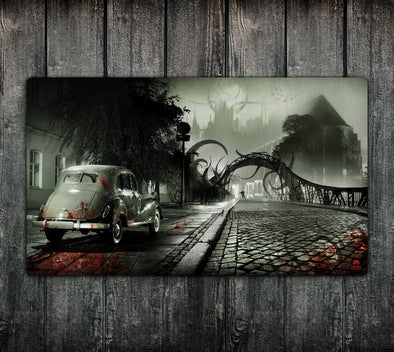 24x14 Double-Side Playmat Shadow Over Arkham / Dunwich Horror