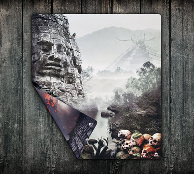 24x28 Double-Sided Playmat - Nameless City / Streets of Arkham