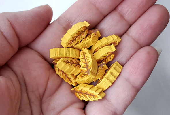 Golden Wheat Tokens - Game Food Resource