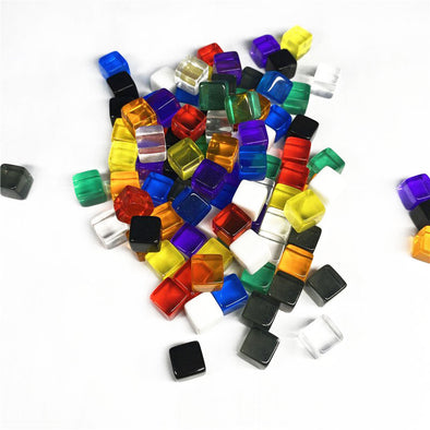 Acrylic Cubes - 11 Colors