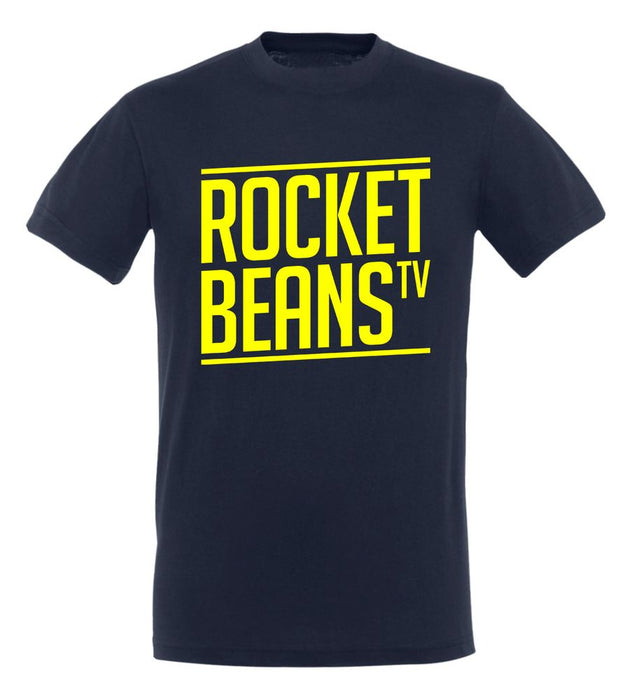 Rocket Beans TV - Slant Typo - T-Shirt