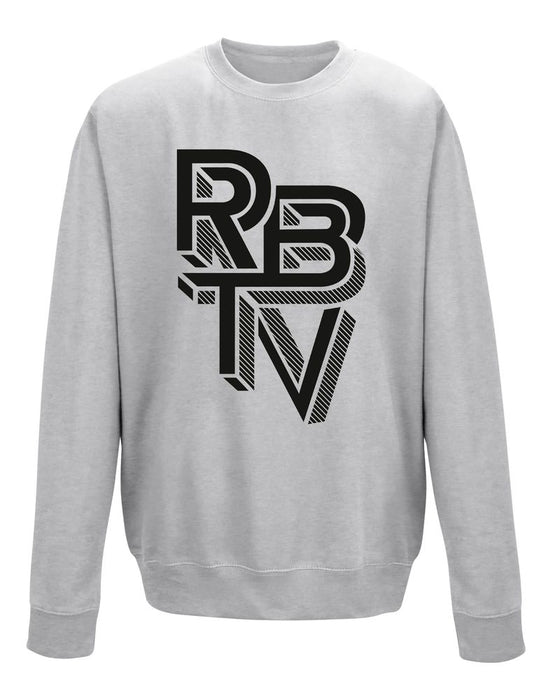 Rocket Beans TV - Escher Schwarz - Sweatshirt