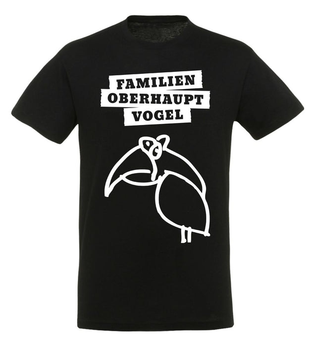 Rocket Beans TV - Familienoberhauptvogel - T-Shirt