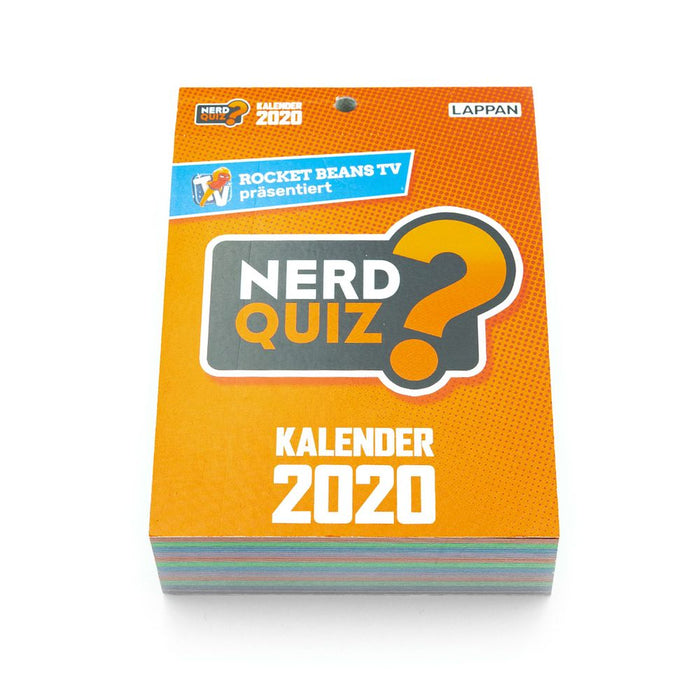 Rocket Beans TV - Nerd Quiz - Kalender