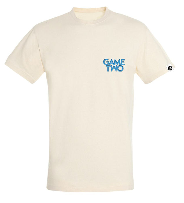 Game Two - Pocket Stick Beige - T-Shirt