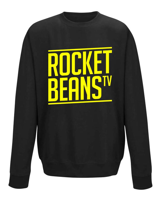 Rocket Beans TV - Slant Typo - Sweatshirt