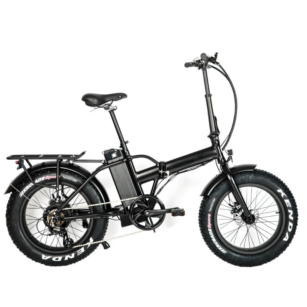 BEST 548 - 48V/13Ah 500W Fat Tire Folding Electric Bike