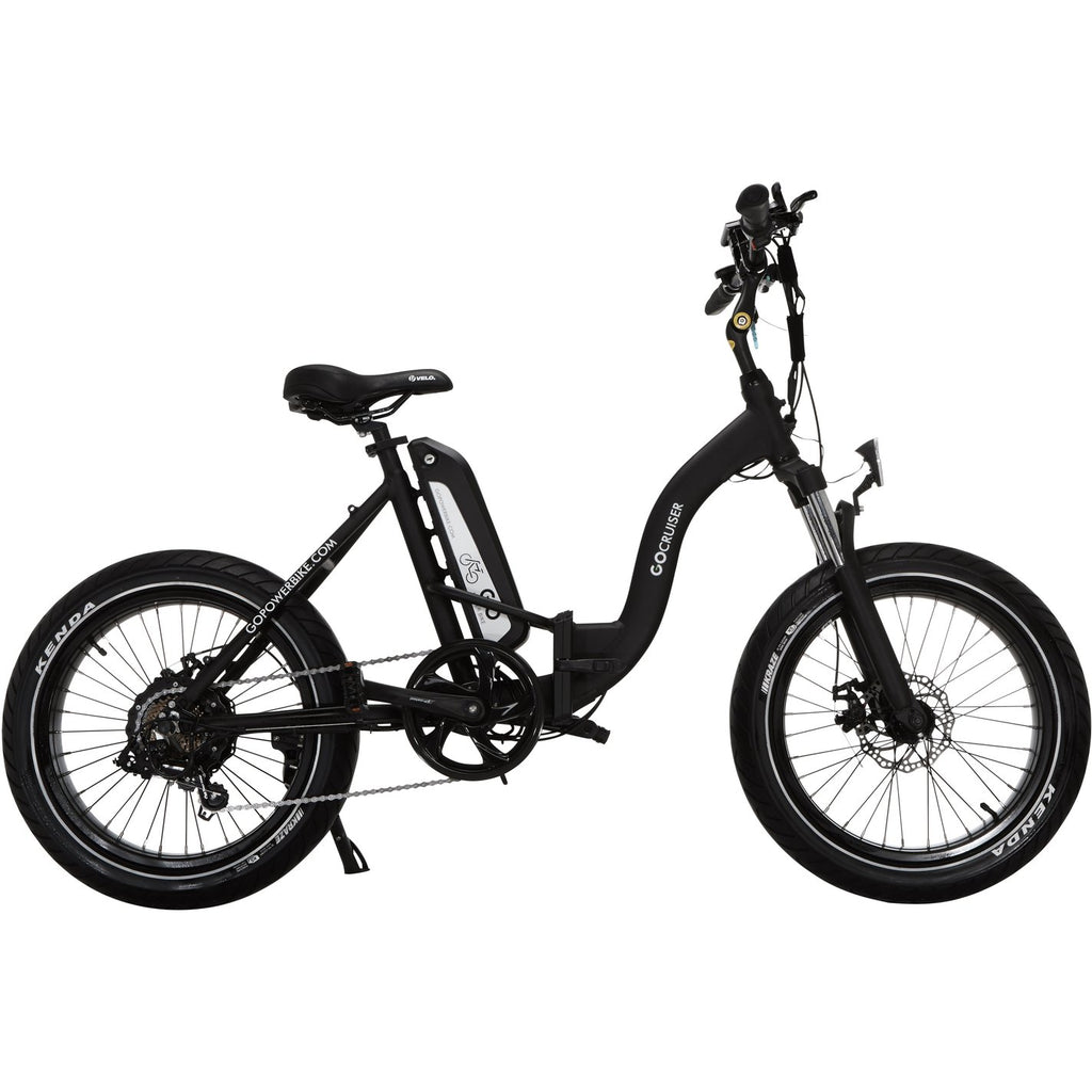 GoPowerBike GoCruiser - 48V/10Ah 750W Fat Tire Electric Bike