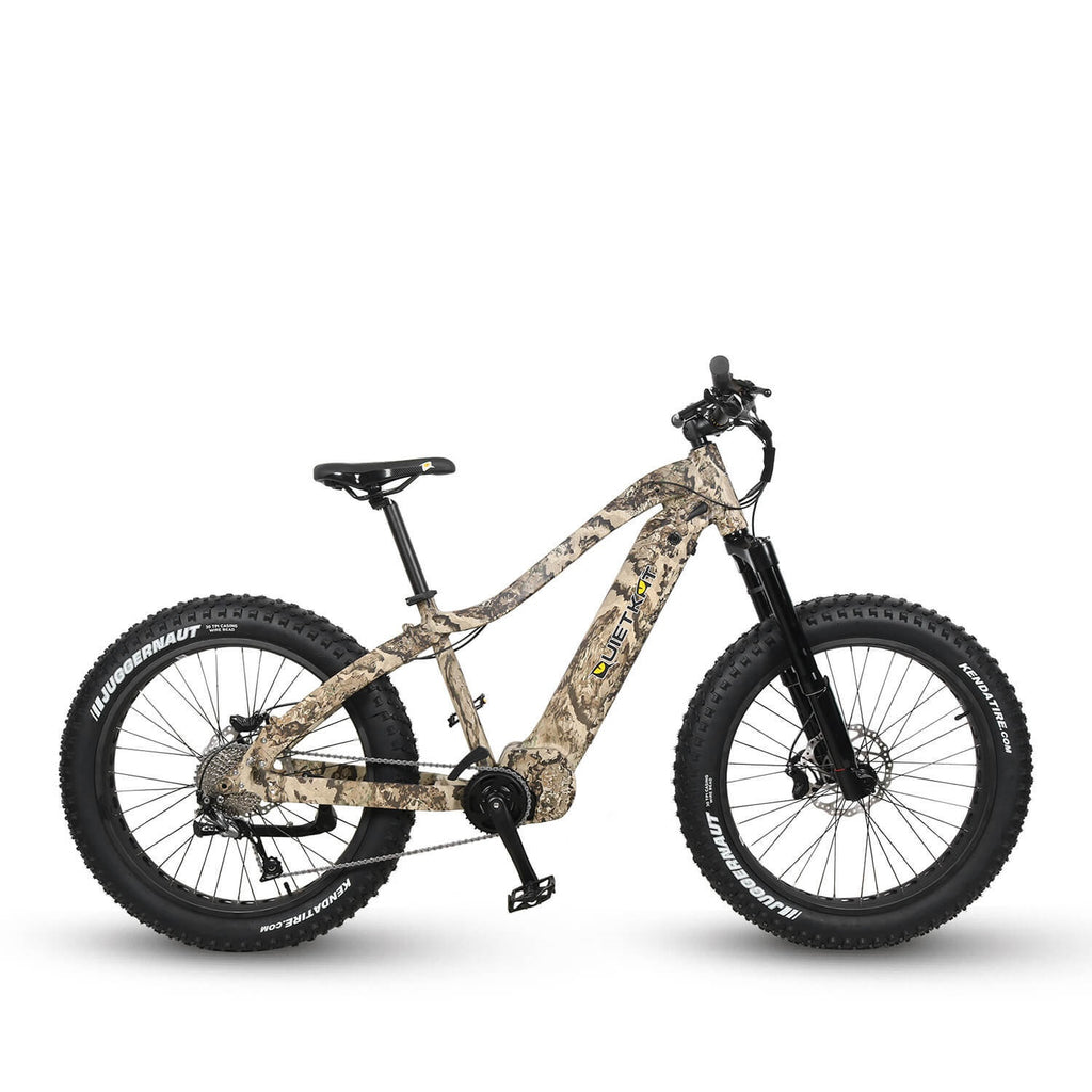 QuietKat APEX 48V 750W-1500W Fat Tire Electric Mountain Bike