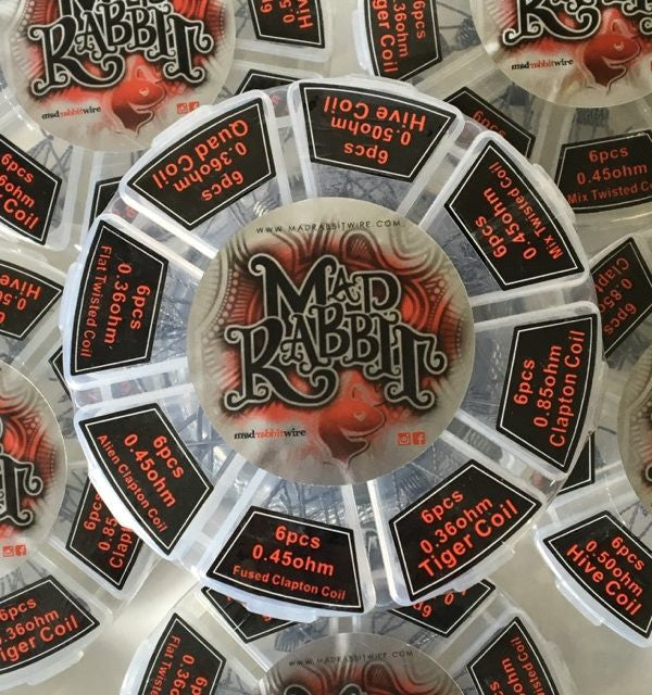 Mad Rabbit Wire Pre-made Kanthal Coil Packs (48 Coils)