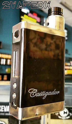 CASTIGADOR X Regulated Box Mod with SX350j-v2 chip By Emperor Vap'East - 2VAPEDX