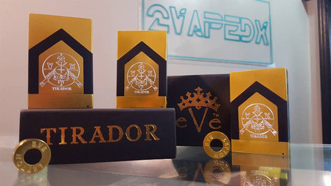 TIRADOR Mechanical Box Mod By Emperor Vape'east - 2VAPEDX