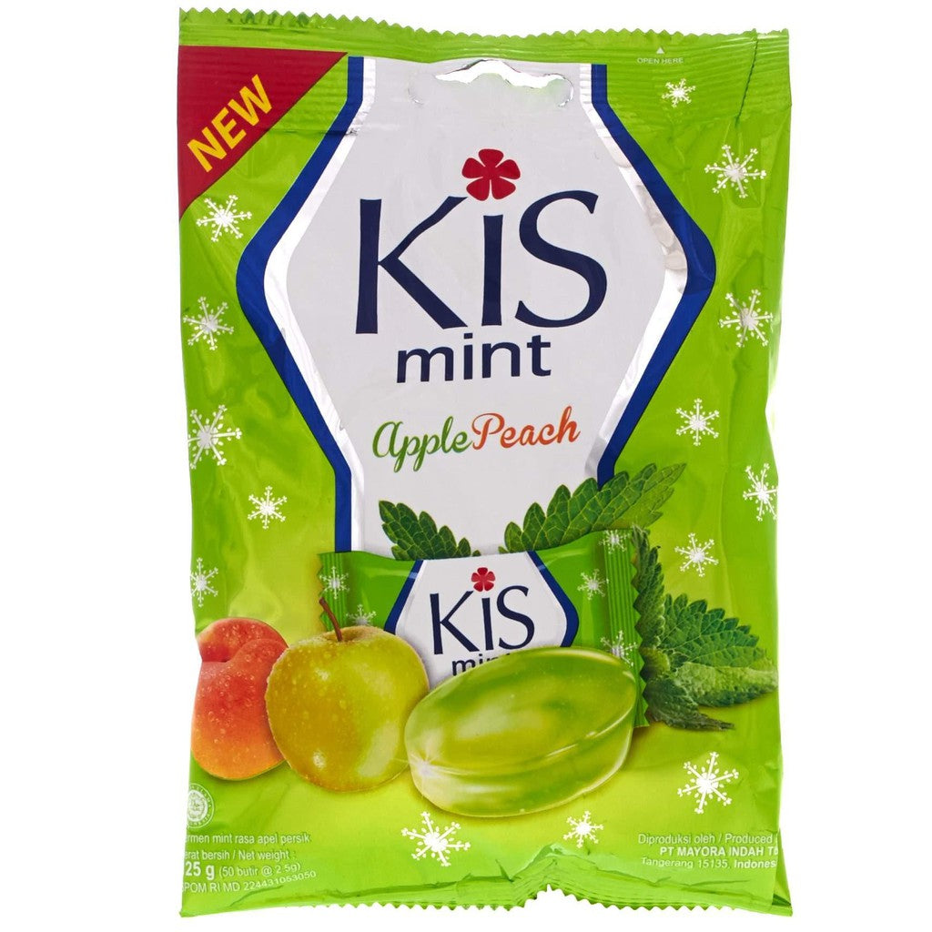 Kis Apple Peach Zak 24X125Gr