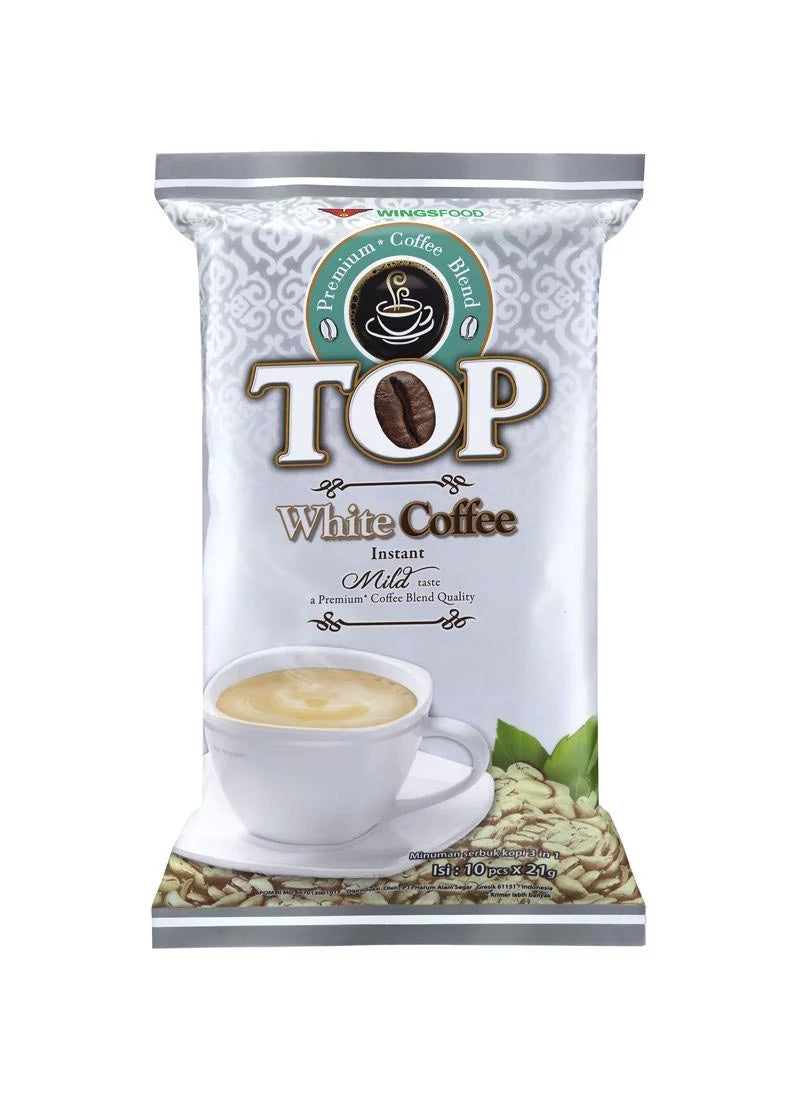 Top White Cofffee 10X21G Bag