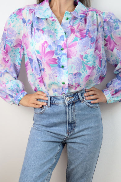 Transparent Handmade Vintage Blouse