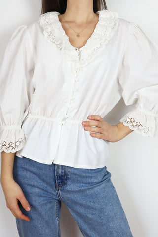 Romantic Vintage Blouse