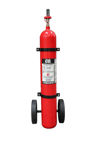 10kg CO2 Trolley Unit - Life Safety Online