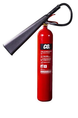 CommanderEDGE 5kg CO2 Fire Extinguisher - alloy steel