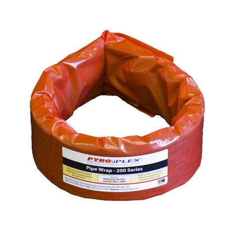 55mm Intumescent Pipe Wrap - 2hr fire rated - Life Safety Online