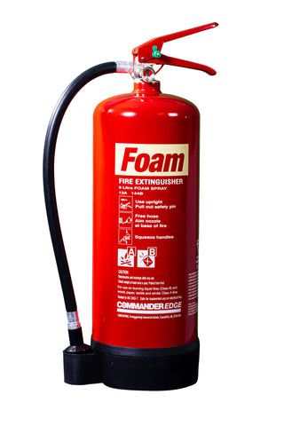 CommanderEDGE 6 litre Foam Spray Fire Extinguisher