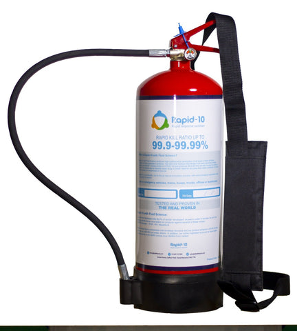 6ltr Rapid-10 Portable Sanitisation System - Life Safety Online