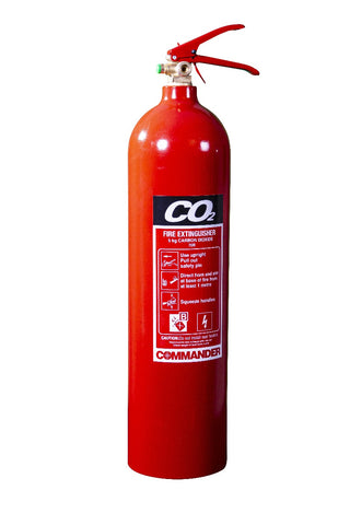 5KG CO2 FIRE EXTINGUISHER - RECONDITIONED - Life Safety Online