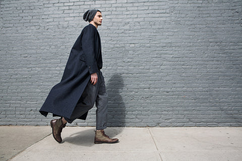 Wool Coat by Odd Natives
