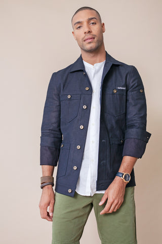 Denim Jacket by Odd Natives