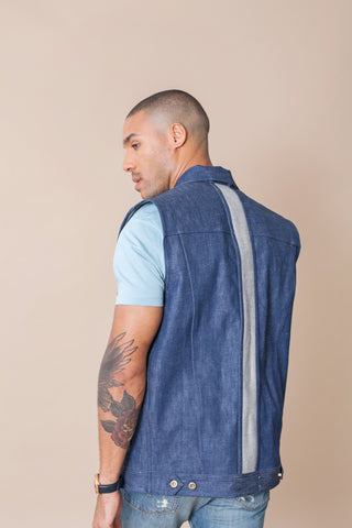 Denim Vest by Odd Natives