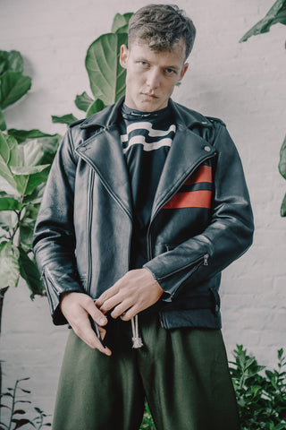 Leather Jacket by Odd Natives