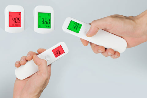 Digital body non contact infrared thermometer / Digital infrared thermometer (PTN Members Only)