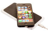 Kyasi Power to Go Qi Enabled Ultra Thin Wireless Qi Receiver for iPhone 5 5S 5C Works with Any Case Black