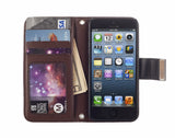 Kyasi Signature Phone Wallet Case for Apple iPhone 6 6S Obsidian Black