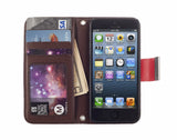 Kyasi Signature Phone Wallet Case for Apple iPhone 6 6S Plus Red Hot