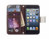 Kyasi Signature Phone Wallet Case Apple iPhone 5 or iPhone 5S Dutch White