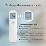 Contactless Digital thermometer - Digital infrared thermometer body non contact