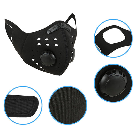Surgisyn Neoprene Reusable Sport Mask with Breathe Vents