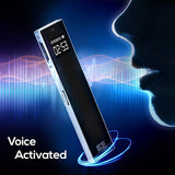 8GB Premium Voice Recorder with MP3 Player