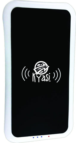 Kyasi Power to Go Qi Enabled Base Charging Station Compatible with any Qi Wireless Device White