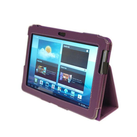 Kyasi Seattle Classic Tablet Folio Case for Samsung Galaxy Tab 2 - 10.1""