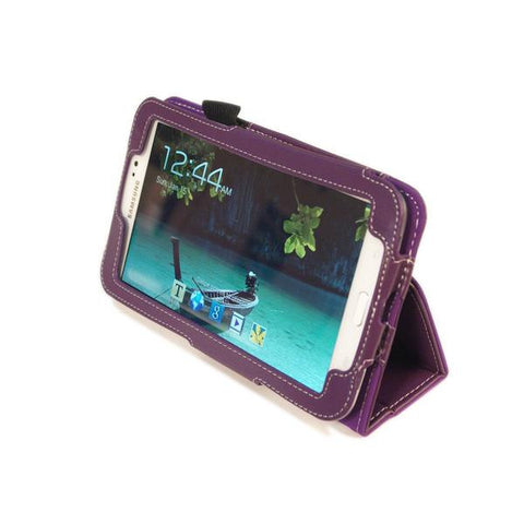 Kyasi Seattle Classic Tablet Folio Case for Samsung Galaxy Tab 3 - 7""