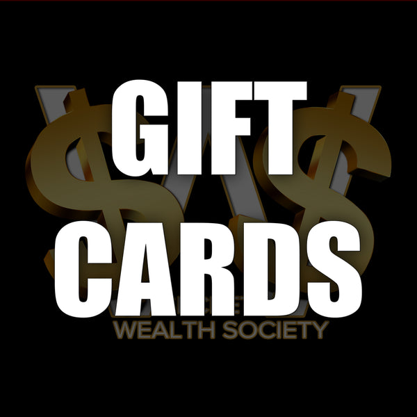 Secret Wealth Society - Official Apparel - Gift Card
