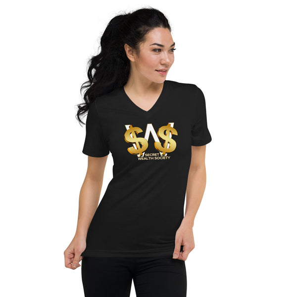 SWS - Women's Short Sleeve V-Neck T-Shirt